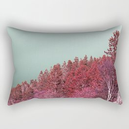 Pink Norway - The Forest Rectangular Pillow