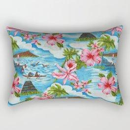 Hawaiian Scenes Rectangular Pillow