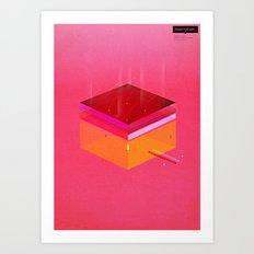 Toast: Facebook Shapes & Statuses Art Print