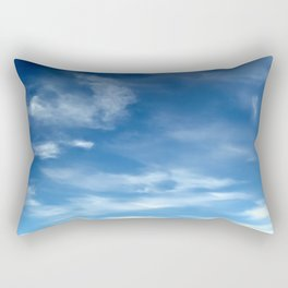 Blue Sky | Clouds | Spiritual | Zen | Nadia Bonello Rectangular Pillow