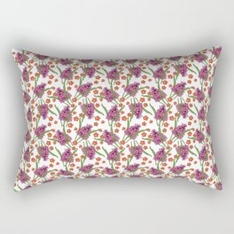 Sultry Summer - Orchids Rectangular Pillow
