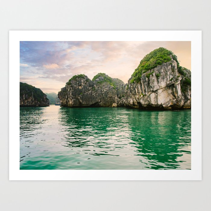 Halong Bay Vietnam Art Print
