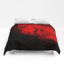 Red Birds, Red Night Comforters