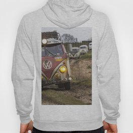 Offroad with vintage cars Hoody