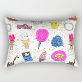 Growing Up in the 90s Rectangular Pillow