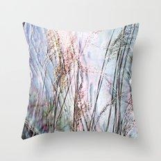 Magical Reeds - JUSTART (c) Throw Pillow