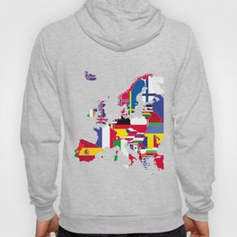 Europe flags Hoody