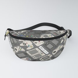 Video Game Controllers in True Colors Fanny Pack