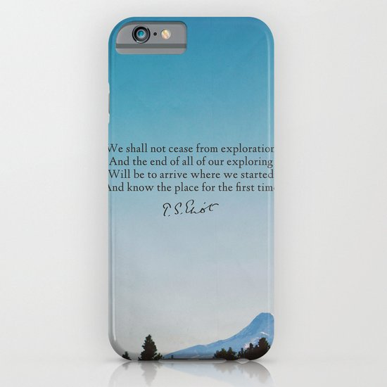 T.S. Eliot: Exploration iPhone & iPod Case