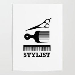 Hair Stylist Poster