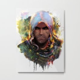 witchers creed Metal Print