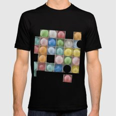 Balloons Mens Fitted Tee Black MEDIUM