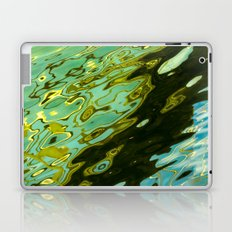 water reflection abstract Laptop & iPad Skin