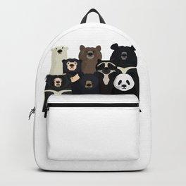Bear family portrait Backpack