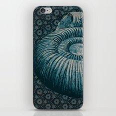 Ammonite on pattern 2201 iPhone & iPod Skin