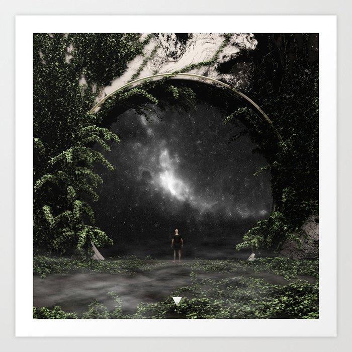 ASTRONOMY ∀ Art Print