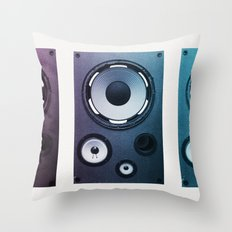 Stereo Sound Throw Pillow