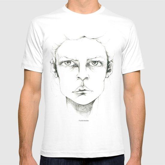 """portrait of anybody"" T-shirt"