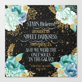 A Court of Frost and Starlight - Sarah J Maas Canvas Print