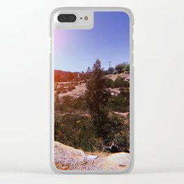 Poway, California Clear iPhone Case