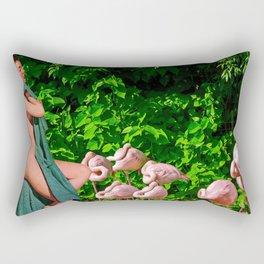 Immaculate Rectangular Pillow