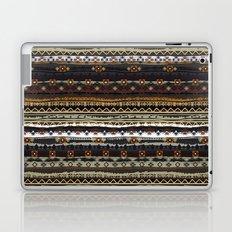 Boho Horizontal Striped Pattern Laptop & iPad Skin