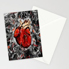 Heart & Arrows Stationery Cards