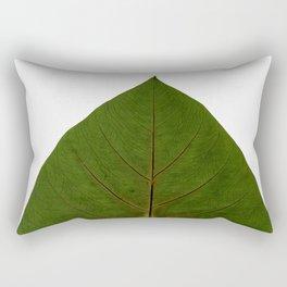 Tropical Leaf Botanical Print Rectangular Pillow