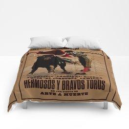 Hermosos y Bravos Toros Comforters