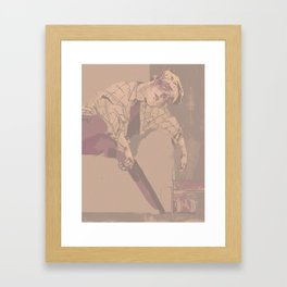 sleepydean_169 Framed Art Print
