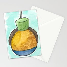 Goofy Caramel Apple Stationery Cards