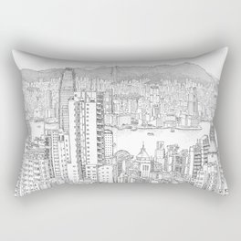 Victoria Peak, Hong Kong (I) Rectangular Pillow