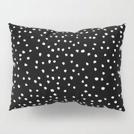 Polka Spots – Black & White Pillow Sham