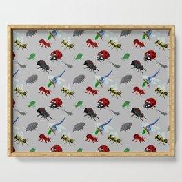 Bichos (Bugs) in pixels Serving Tray