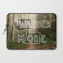 Wander More - Forest Laptop Sleeve