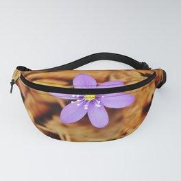 Liverwort flower Fanny Pack