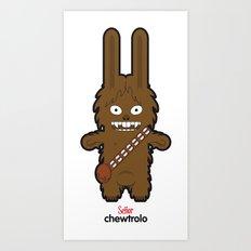 Sr. Trolo / Chewbacca Art Print