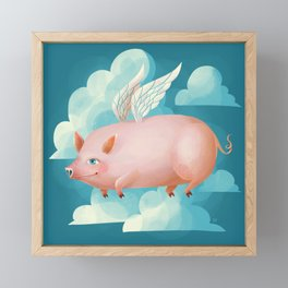 2019: Year of the Pig Framed Mini Art Print