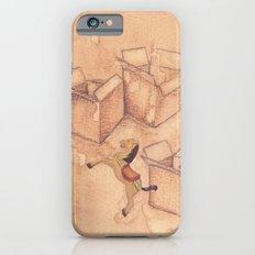 Tres cajas de cartón y un caballo de madera iPhone 6s Slim Case