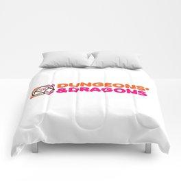 Dunkin' Dragons Comforters