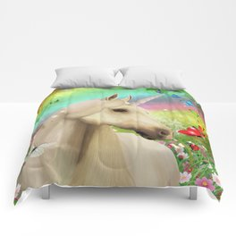 Magical Forest Unicorn Comforters
