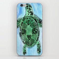 Tatoo Sea Turtle iPhone & iPod Skin
