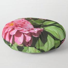 Ruffle Floor Pillow