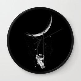 Moon Swing Wall Clock