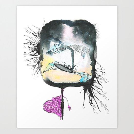 Morning Sickness Art Print