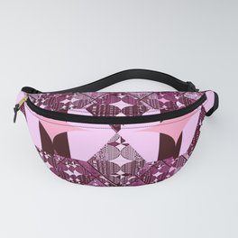pink and purple diamonds Fanny Pack