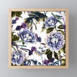 Flowering winter garden II Framed Mini Art Print