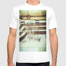 In Search Of Mens Fitted Tee MEDIUM White