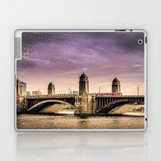 Longfellow Bridge, Boston MA Laptop & iPad Skin