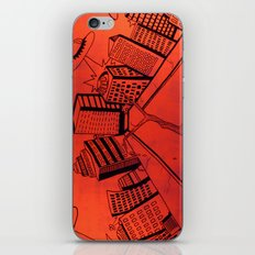 Crayliens iPhone & iPod Skin